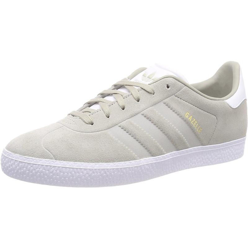 Details zu adidas Originals Gazelle J Sesam Wildleder Jugend Trainer Schuhe