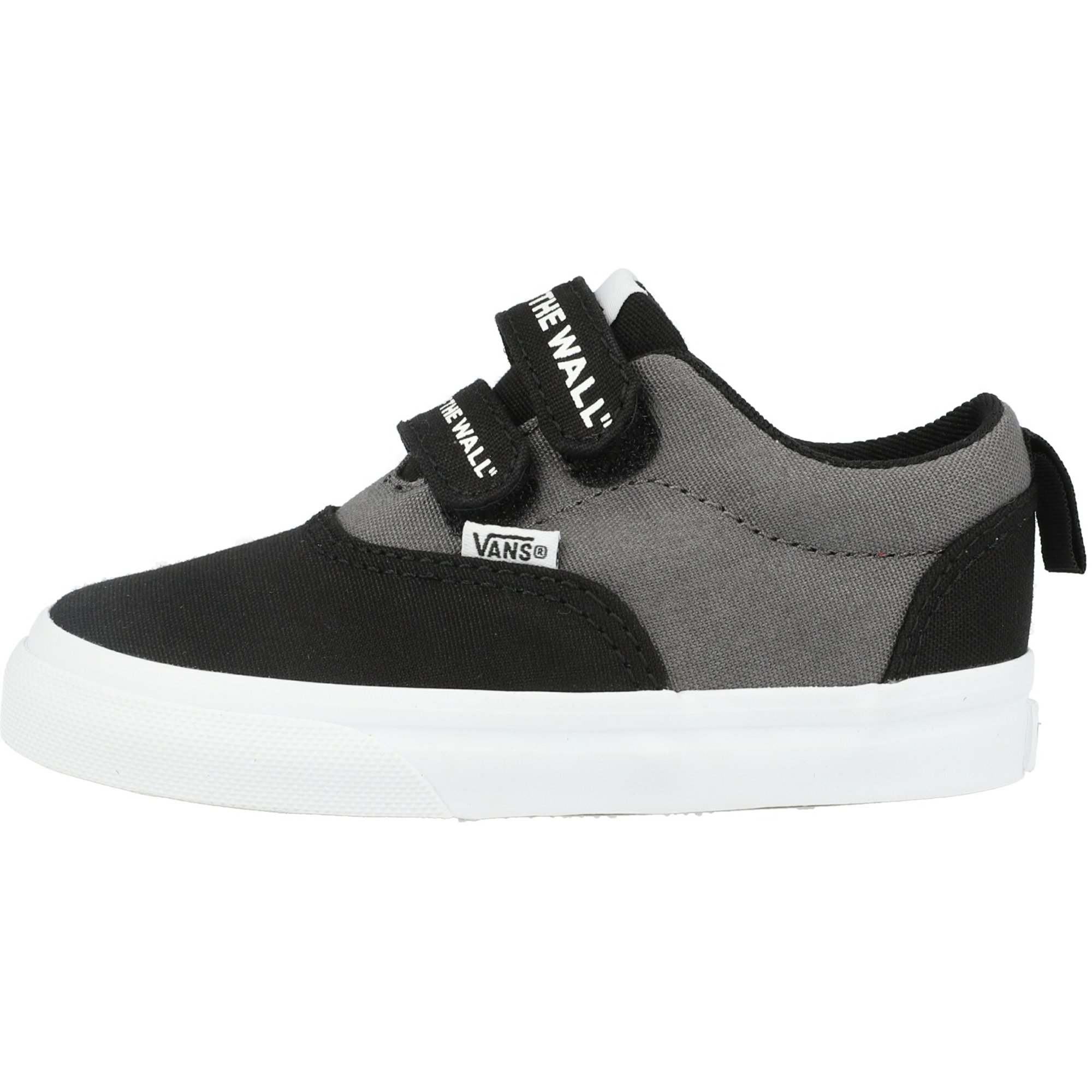 Vans Active TD Doheny V Black On The Wall/White Canvas Infant