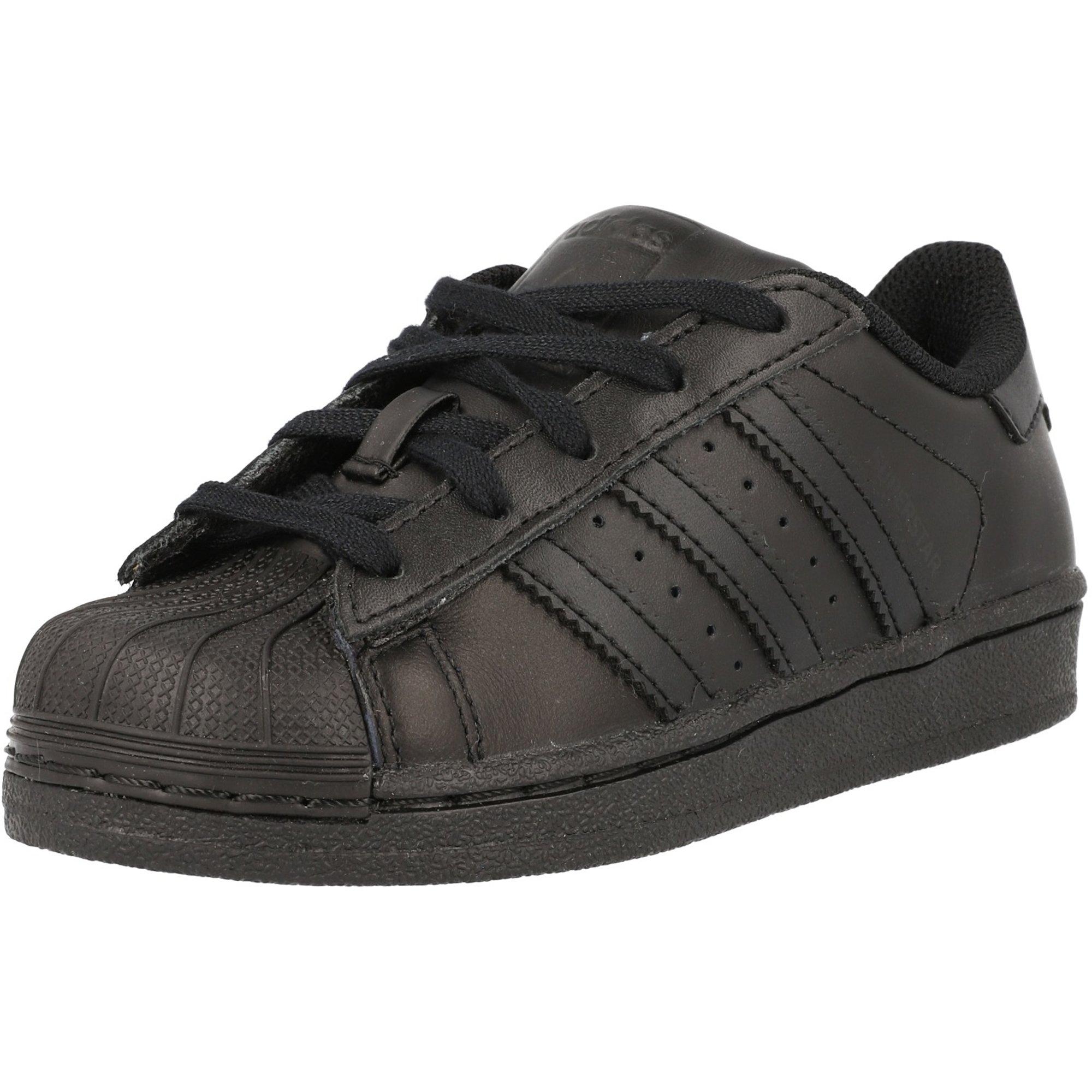 adidas Originals Superstar C Negro Cuero Júnior