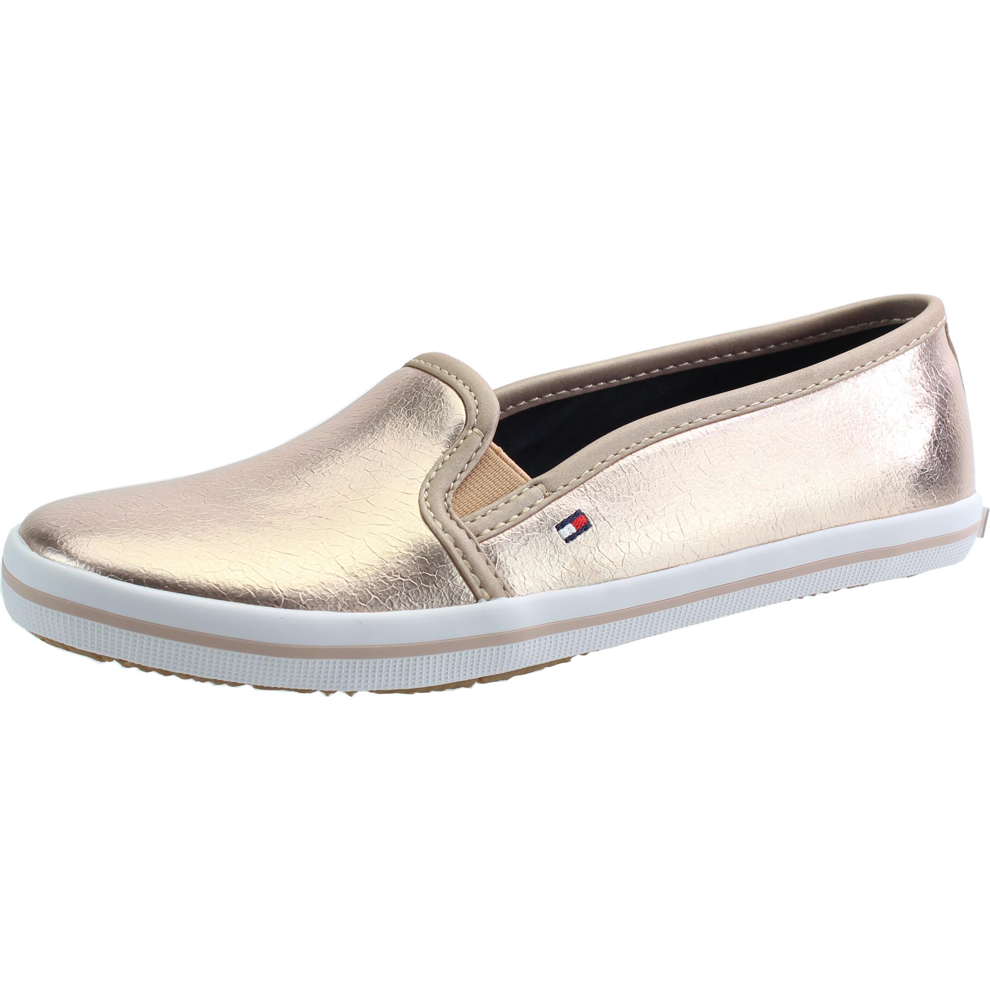 legjobb szállító amazon első osztályú Tommy Hilfiger S3285ammie 18Z Rose Gold Synthetic - Trainers Shoes ...