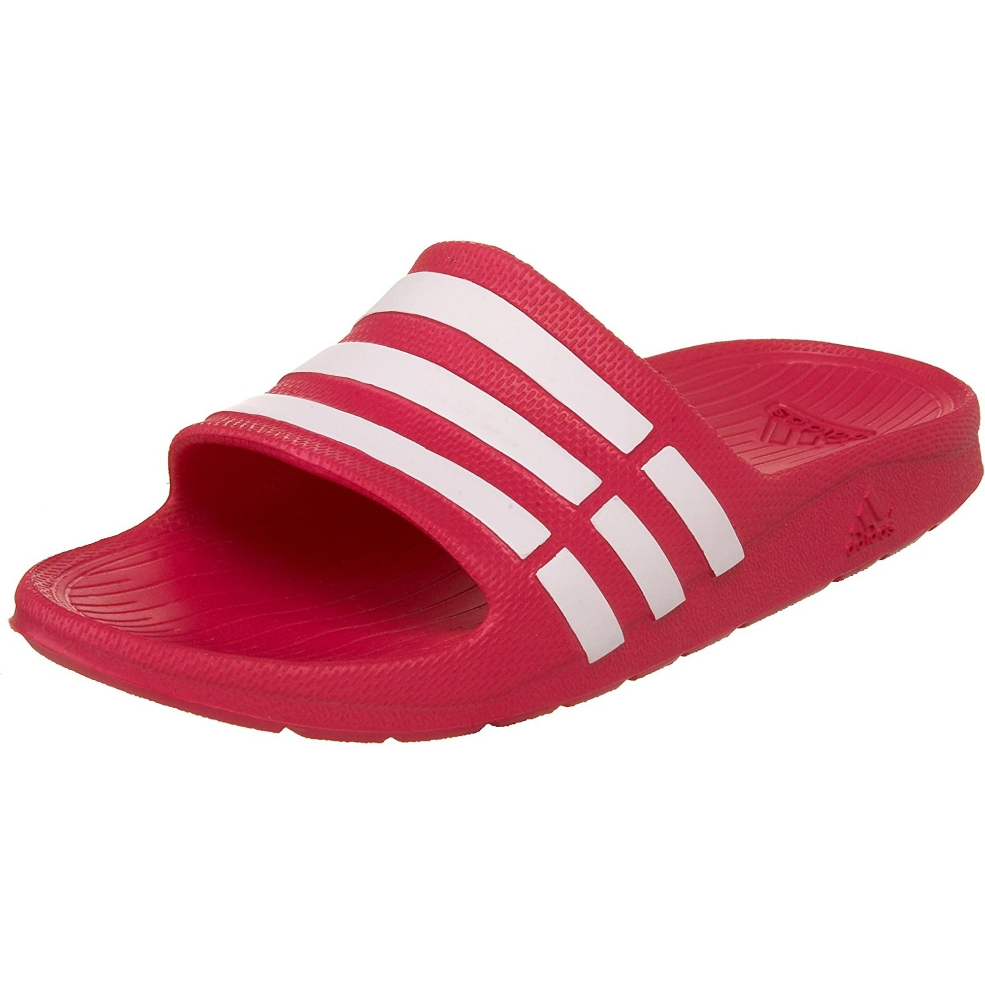 adidas Performance Kids Duramo Slide Sandal Toddler//Little Kid//Big Kid adidas Kids Performance Footwear Duramo Slide K