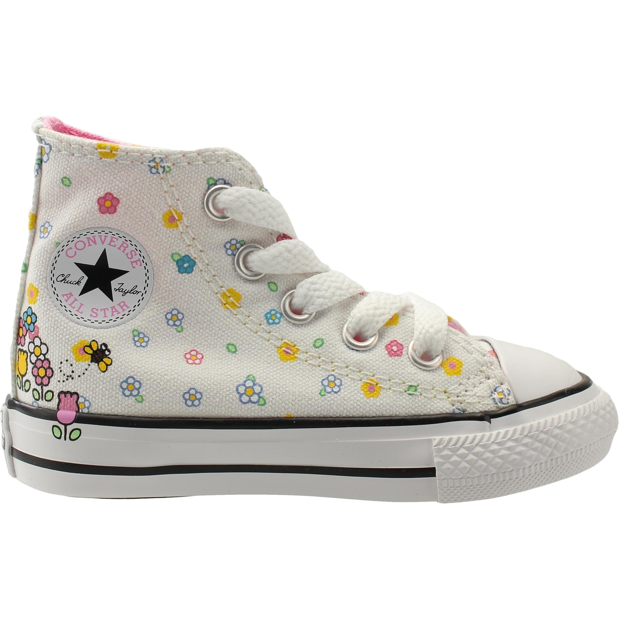 Converse Chuck Taylor All Star Hello Kitty Hi WhitePink Textile Baby