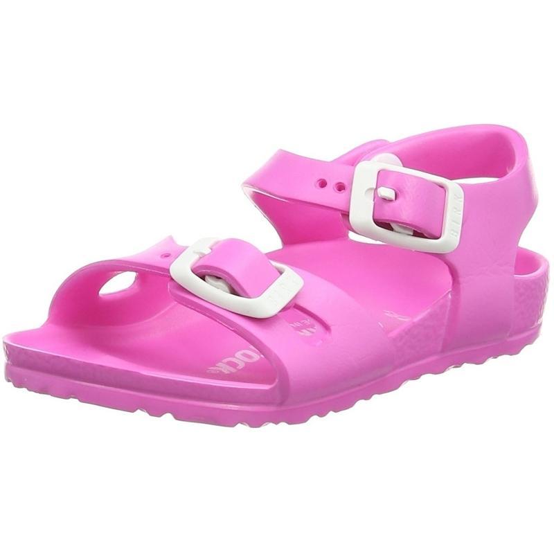 Details zu Birkenstock Rio Kids EVA Neon Pink EVA Kleinkind Gurt Sandalen