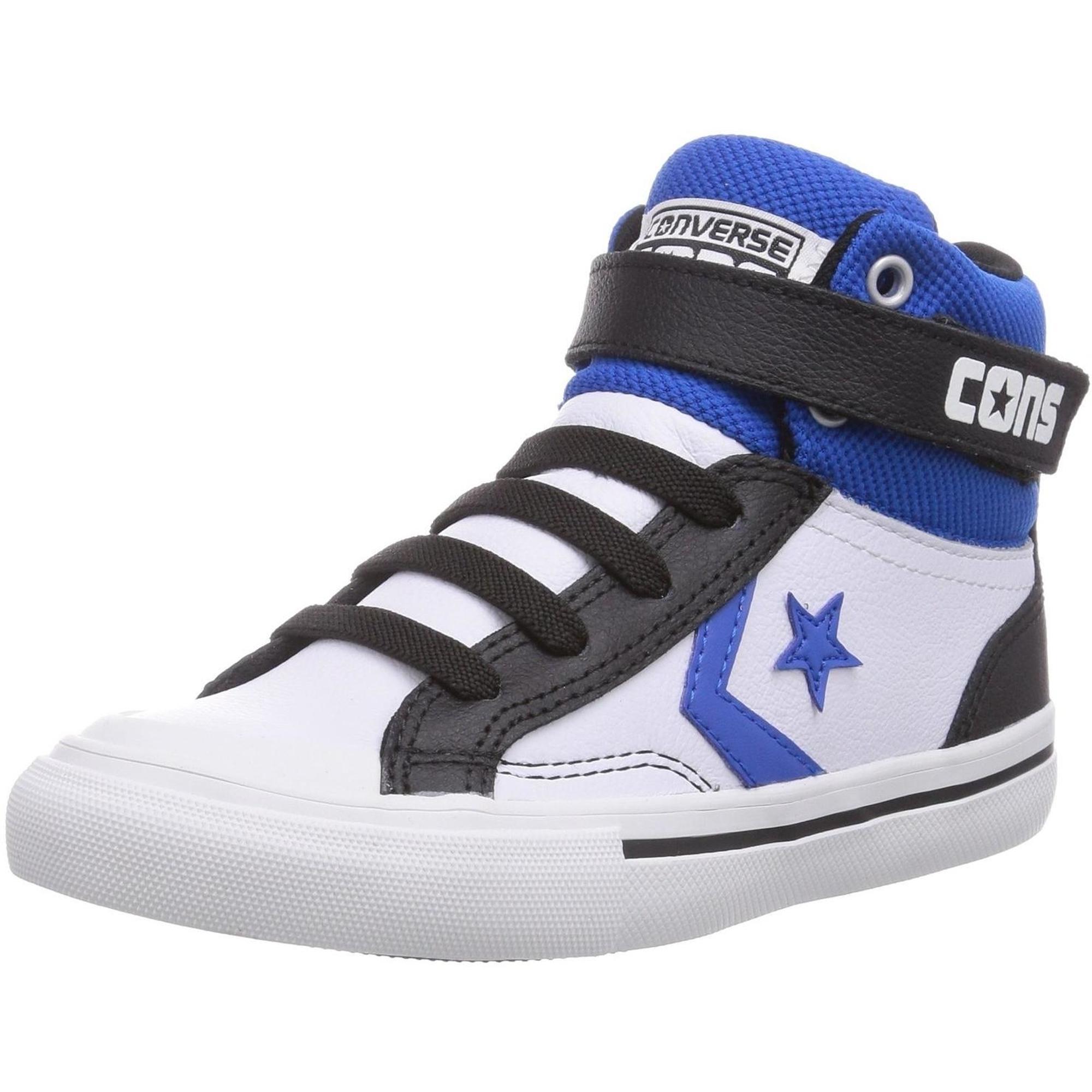 Converse Cons Pro Blaze Strap Stretch Weiß Leder Jugend