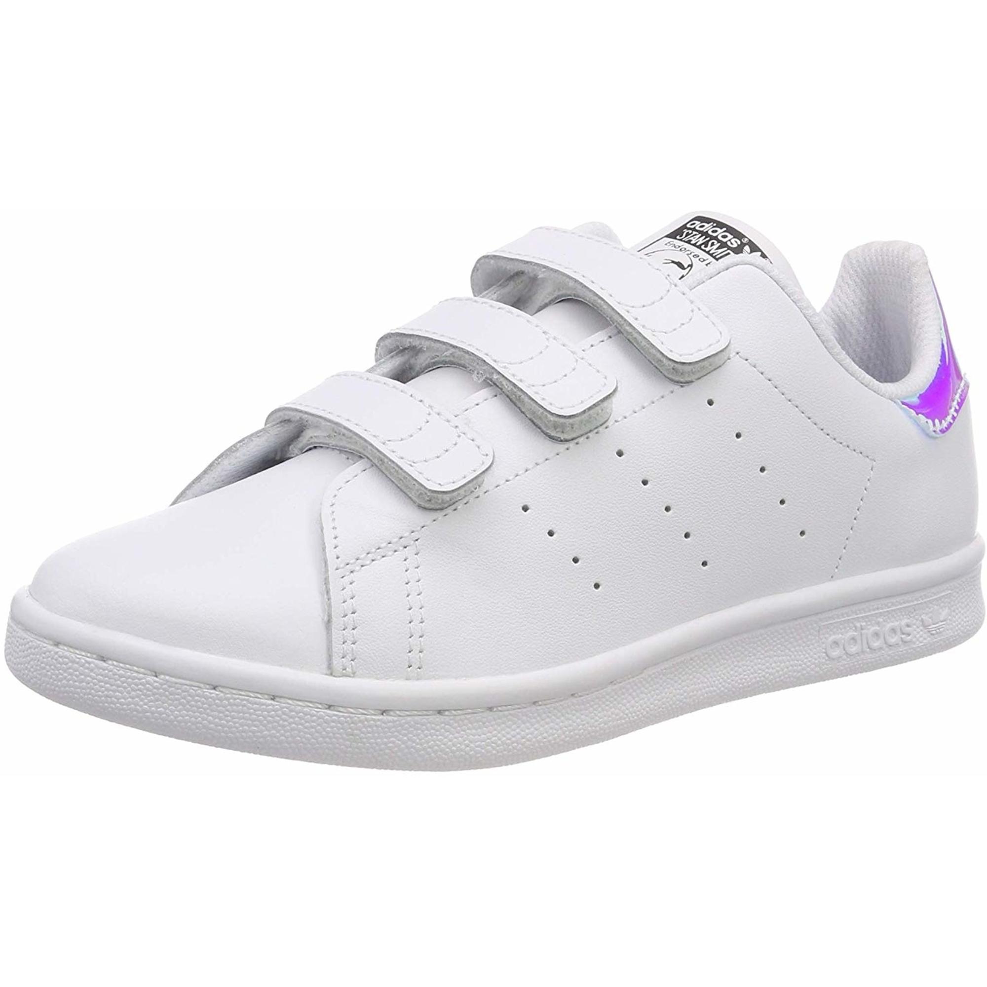 Authentisch Ermäßigung Weiß adidas Originals Stan Smith CF W