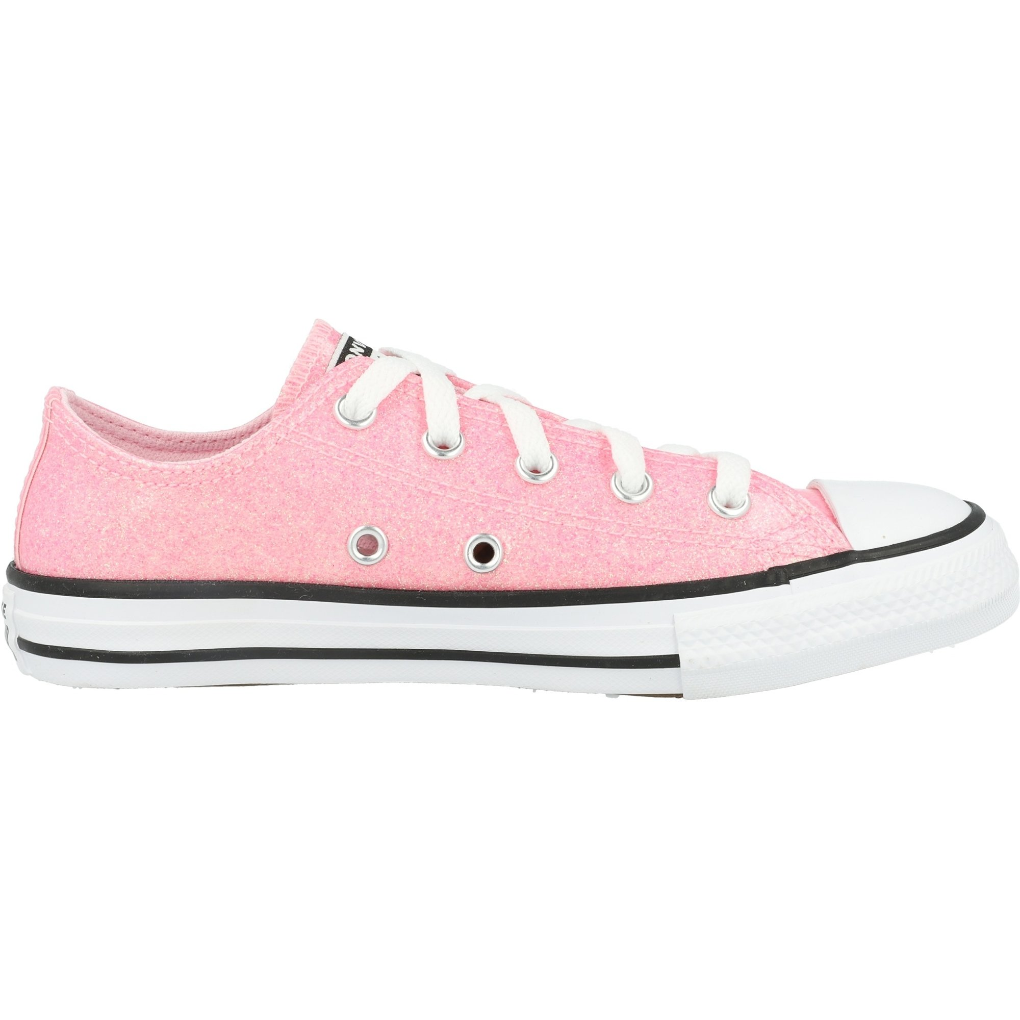 Converse Chuck Taylor All Star Ox Coated Glitter Cherry Blossom/Black Synthetic