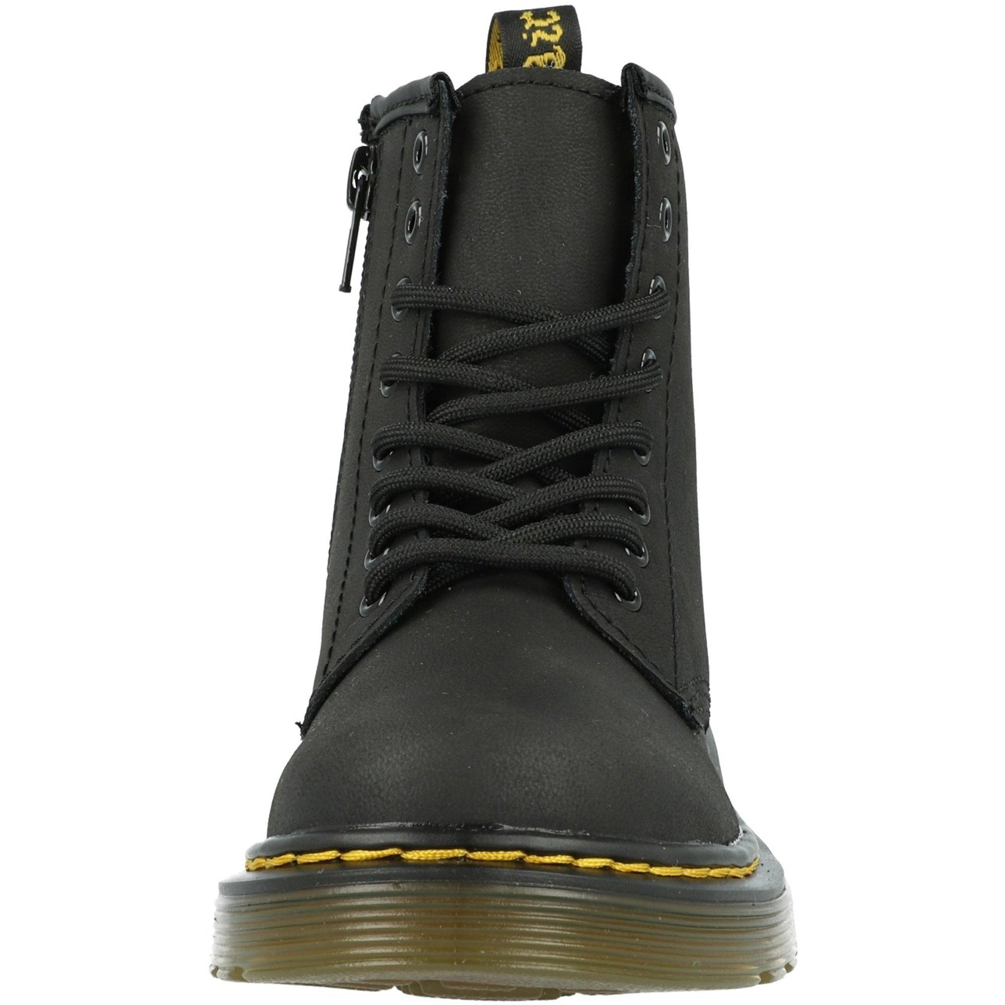 Dr.Martens SERENA 8EYE BOOTS BLACK doctor Martin selena8 hall boots black Lady's