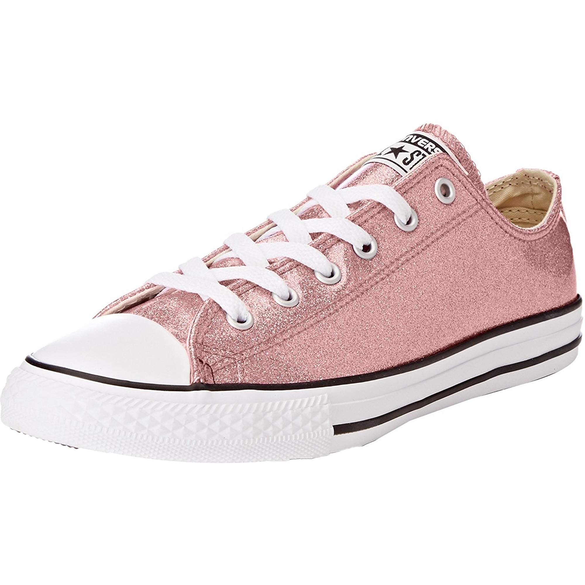 Converse Chuck Taylor All Star Glitter Ox Rose Gold Synthetic Junior